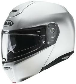 HJC Arsp 90 Noir Blanc Jaune Sport Pliable Casque de Moto Av