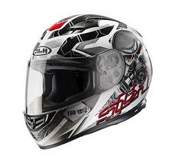 Casque de Moto HJC CS-15 Rafu MC-1 Couleur : Noir/Gris/Blanc
