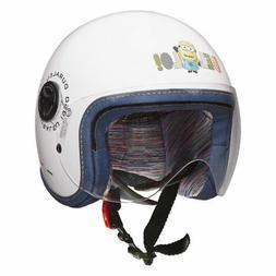 casque de moto demi jet enfant junior