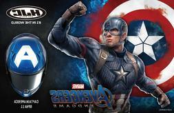 Casque de Moto Intégrale HJC Rpha 11 Marvel Captain Amériq