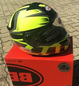 Casque Helm Casque Helmet Bell SRT Predator Hi-Viz Green Bla