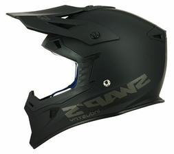 Casque Helmet Cross MX US S818 Moto / Quad  Homologué Noir