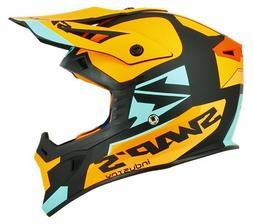 Casque Helmet Cross MX US S818 Moto / Quad  Homologué Noir/