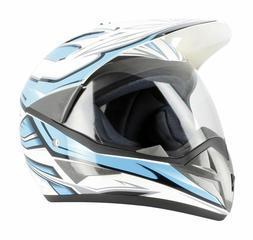 Casque Helmet Enduro Trail Aventure Moto / Quad  Homologué