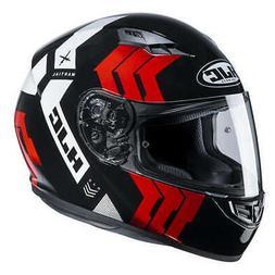 Casque Helmet Moto Intégrale HJC CS15 Martial MC1 Noir Roug
