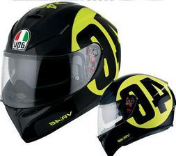Casque Intégral Moto AGV K3 Sv Pinlock Valentino Rossi Boll