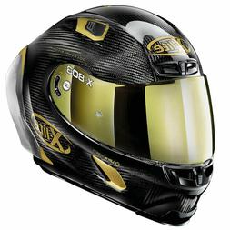 Casque Intégral Moto XLITE 803 Rs Ultra Carbone Hot Lap Or