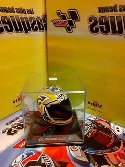 Casque miniature Moto GP 1/5  Altaya COLIN EDWARDS 2005