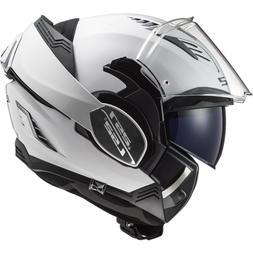 CASQUE LS2 MODULABLE FF900 VALIANT II moto maxi scooter Blan