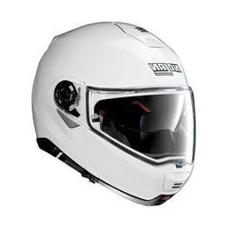NOLAN Casque Modulable N100-5 CLASSIC N-COM 5 Metal White