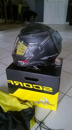casque moto scorpion EXO 510 Air syncf