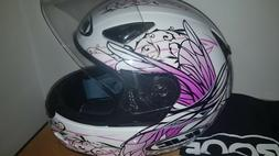 casque moto femme HJC excellent etat