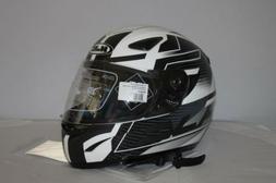 CASQUE Moto Intégral HJC CS14 SUNA MC5 - Noir Blanc - Taill