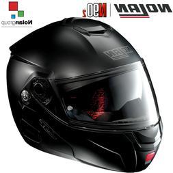 Casque Moto Moduler Nolan N90-2 N-Com Classic 010 Noir Mat F