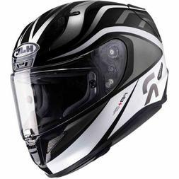 Casque Moto HJC RPHA 11 Vermo MC5 Noir et Blanc Taille XL