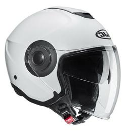 Casque Moto Scooter Jet HJC i40 Blanc Mat TAILLE XS