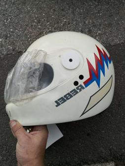 casque moto scooter vintage années 80 neuf mobylette taille