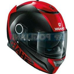 Casque Moto SHARK Spartan Intégrale Carbone Drr Couleur Rou