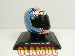 CM19 CASQUE MOTO GP 1/5  : Dani PEDROSA 2005