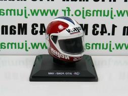 CM8 CASQUE MOTO GP 1/5  : Sito Pons 1988 - Coca cola Nolan