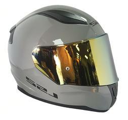 LS2 FF353 rapid Intégral Gris Casque Moto Nardo Gris Avec G