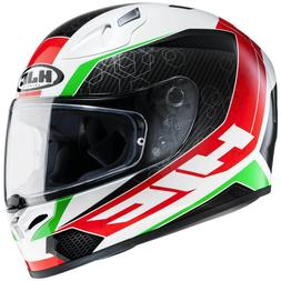 HJC FG-17 Ohama Casque de Moto Intégral Sport - Noir Blanc