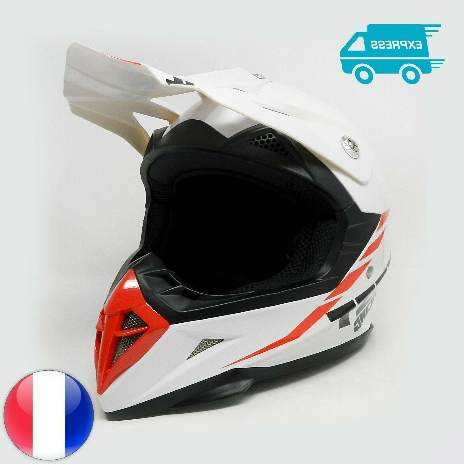 casque de moto enfant motocross cross off