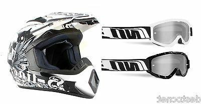 casque lunettes cross homologue moto enduro cross