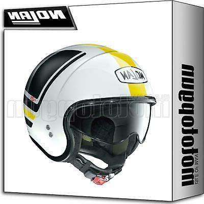casque moto jet n21 flybridge metal blanc