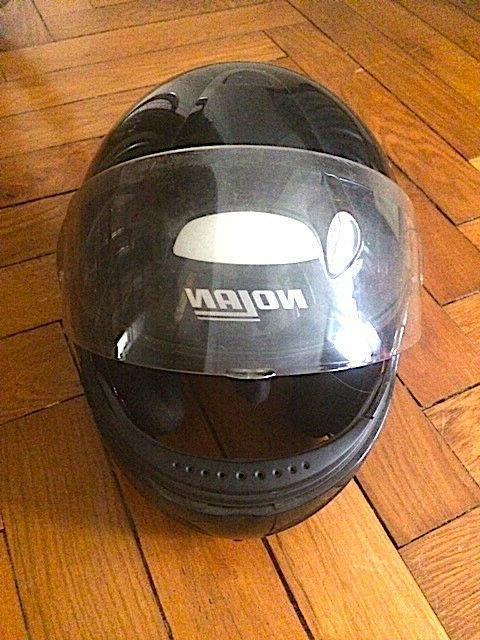 casque moto modulable en bon etat modele