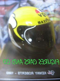 MOTO GP 1/5 CASQUE KENNY ROBERTS 1980 CASCOS HELMET