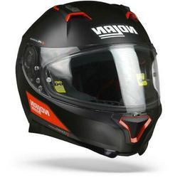 Nolan N87 Emblema 073 - Noir Rouge Mat 73 - Casque Moto - Li