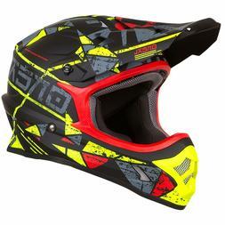 O'Neal 3Series Moto MX Motocross Traverser Casque Zen Jaune