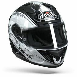 Airoh T600 Scorpio - Blanc - Brillant - Casque moto - Nouvea