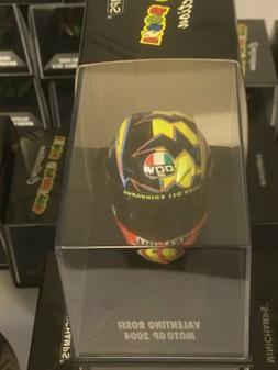 Minichamps Valentino Rossi AGV Casque Helmet Moto 1/8 Motogp
