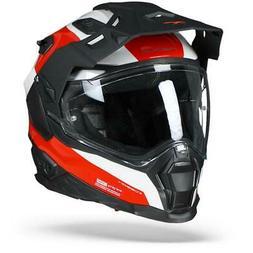 Nexx X.WED2 Duna Rouge Blanc Noir - Casque Moto Nexx XWED2 -