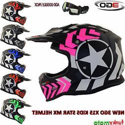 3GO X15 ENFANT MX CASQUE MOTO CROSS ENDURO KART BMX SPORT AT