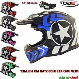 3GO X15 ENFANT MX CASQUE MOTO CROSS OFF ROAD QUAD ATV BMX KA